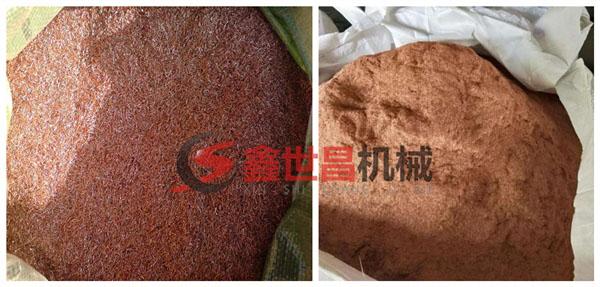 客户现chang加工的铜米